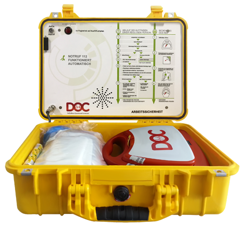 Mobiler Defibrillator DOC
