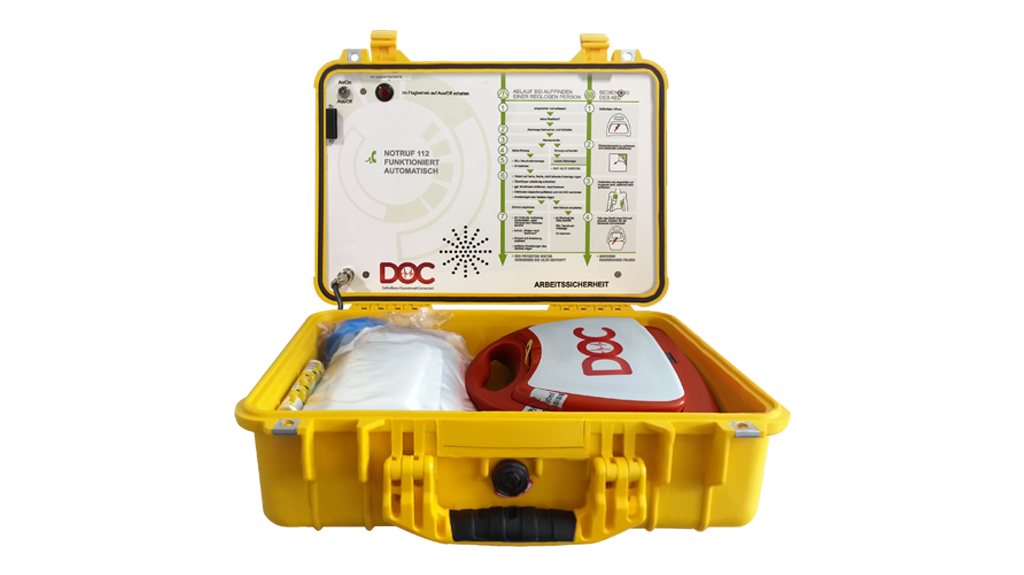 Mobiler DOC-Defibrillator | ALMAS INDUSTRIES AG
