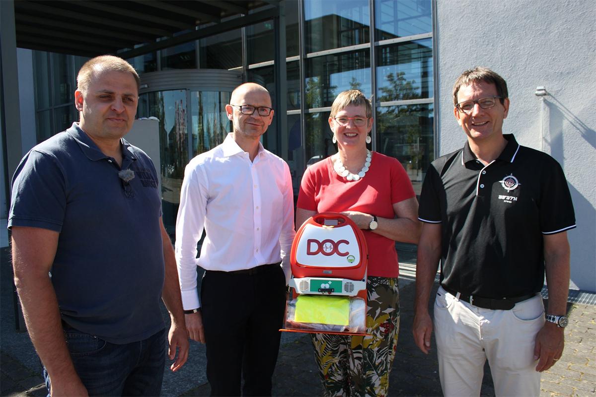 Gemeinde St. Leon-Rot wird mit DOC-Rettungssystem ausgestattet