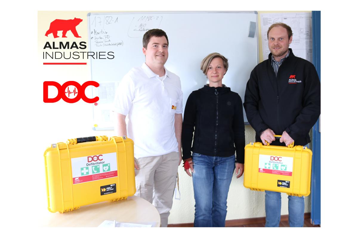 SRH – Marathon Mannheim | DOC-Defibrillatoren sind am Start