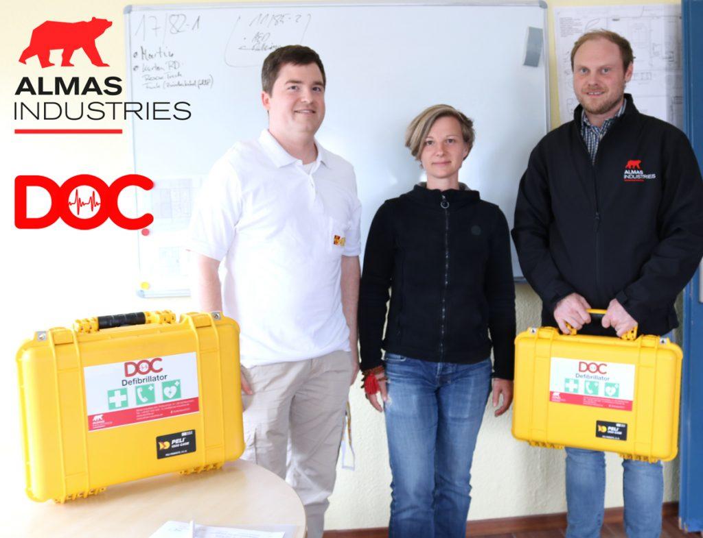 Mobile DOC-Defibrillatoren für den ASB | DOC-Rettungssystem